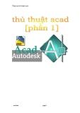Tổng hợp thủ thuật acad