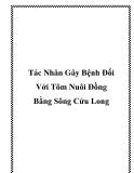 Tác Nhân Gây Bệnh Đối Với Tôm Nuôi Đồng Bằng Sông Cửu Long