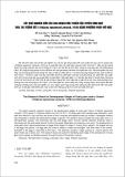 """BÁO CÁO """"  KẾT QUẢ NGHIÊN CỨU CÁC GIAI ĐOẠN PHÁT TRIỂN CỦA TUYẾN SINH DỤC TRAI TAI TƯỢNG VẨY (Tridacna squamosa Lamarck, 1819) BẰNG PHƯƠNG PHÁP MÔ HỌC """""""