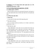 Chương 1 Các hệ thống thoát nước ngoài nhà và sơ đồ mạng lưới thoát nước