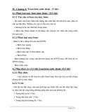 Chương 4: Trạm bơm nước thoát