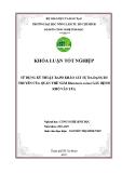 SỬ DỤNG KỸ THUẬT RAPD KHẢO SÁT SỰ ĐA DẠNG DI TRUYỀN CỦA QUẦN THỂ NẤM Rhizotonia solani GÂY BỆNH KHÔ VẲN LÚA