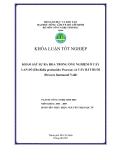 KHẢO SÁT SỰ RA HOA TRONG ỐNG NGHIỆM Ở CÂY LAN SÕ (Dischidia pectinoides Pearson) và CÂY BẮT RUỒI (Drosera burmannii Vahl)