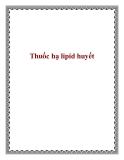 Thuốc hạ lipid huyết