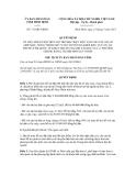 Quyết định số 711/QĐ-UBND