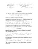 Quyết định số 421/QĐ-UBND