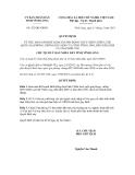 Quyết định số  432/QĐ-UBND