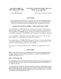Quyết định số 602/QĐ-BNN-HTQT