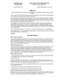 Thông tư số 05/2013/TT-BTTTT