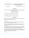 Quyết định số  419/QĐ-TTg