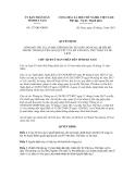Quyết định số 327/QĐ-UBND