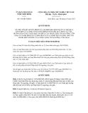 Quyết định số 146/QĐ-UBND