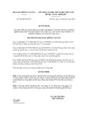 Quyết định số 662/QĐ-BGTVT