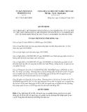 Quyết định số  17/2013/QĐ-UBND