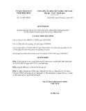 Quyết định số 521/QĐ-UBND