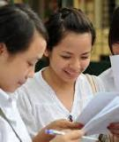 Đề thi thử ĐH môn Anh Văn năm 2013 Đề 6