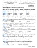 Đề thi thử ĐH môn Anh Văn năm 2013 Đề 7