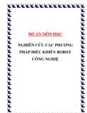 """Luận văn đề tài """"Nghiên cứu các phương pháp điều khiển Robot công nghiệp"""""""