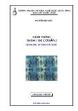 Giáo trình Trang trí cơ bản: Phần 2 - ĐH Sư phạm Nghệ thuật Trung ương