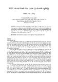 """Báo cáo """" ERP và mô hình hóa quản lý doanh nghiệp """""""