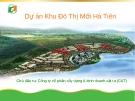 Dự án Khu Đô Thị Mới Hà Tiên