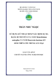 SỬ DỤNG KỸ THUẬT RFLP XÁC ĐỊNH SỰ ĐA DẠNG DI TRUYỀN CỦA NẤM Metarrhizium anisopliae VÀ NẤM Beauveria bassiana KÝ SINH TRÊN CÔN TRÙNG GÂY HẠI