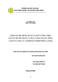 KHẢO SÁT HỆ THỐNG QUẢN LÝ CHẤT LƯỢNG THEO HACCP CHO MẶT HÀNG CÁ TRA-CÁ BASA FILLET ĐÔNG LẠNH CỦA CÔNG TY AGIFISH (XÍ NGHIỆP ĐÔNG LẠNH 8)