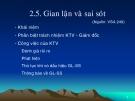 Bài giảng kiểm toán (ThS. Nguyễn Văn Thịnh) - Chương 2.5