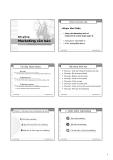 Bài giảng : lý thuyết tổng quan marketing căn bản