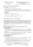 Tổng hợp đề thi đại học và đáp án môn toán các khối (từ năm 2007 - 2012)