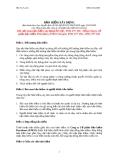 Văn bản về Bảo hiểm xây dựng