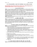 Quy tắc bảo hiểm tai nạn thân thể học sinh 24 giời ngày đêm