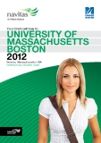 University of Massachusets in Boston brochure