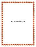 CA DAO MIỀN NAM