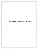 NHI ĐỒNG TRONG CA DAO