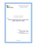 Đề tài :  PHƯƠNG PHÁP QUẢN TRỊ VÀ ĐÁNH GIÁ HỆ THỐNG THÔNG TIN COBIT