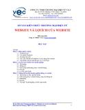 Sổ tay kiến thức thương mại điện tử - Website và lợi ích của Website