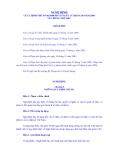 NGHỊ ĐỊNH CỦA CHÍNH PHỦ SỐ 90/2008/NĐ-CP NGÀY 13 THÁNG 08 NĂM 2008 VỀ CHỐNG THƯ RÁC CHÍNH PHỦ
