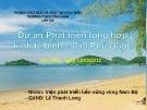 Dự án:Phát triển tổng hợp kinh tế biển – đảo Phú Quốc