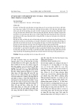 SỬ DỤNG ĐẤT VƯỜN ĐỒI Ở HUYỆN VÕ NHAI – TỈNH THÁI NGUYÊN THỰC TRẠNG VÀ GIẢI PHÁP