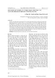 MỘT SỐ KẾT QUẢ NGHIÊN CỨU VỀ HIỆN TRẠNG THẢM THỰC VẬT TẠI XÃ PHÚ ĐÌNH HUYỆN ĐỊNH HOÁ TỈNH THÁI NGUYÊN
