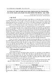 SỰ TÍCH LUỸ MỘT SỐ KIM LOẠI NẶNG TRONG ĐẤT DO ẢNH HƯỞNG CỦA NƯỚC THẢI LÀNG NGHỀ TÁI CHẾ NHÔM YÊN PHONG - BẮC N
