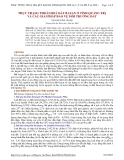 THỰC TRẠNG THOÁI HOÁ ĐẤT BAZAN Ở TỈNH QUẢNG TRỊ VÀ CÁC GIẢI PHÁP BẢO VỆ MÔI TRƯỜNG ĐẤT