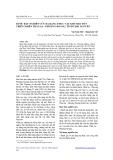 BƯỚC ĐẦU NGHIÊN CỨU ĐA DẠNG THỰC VẬT KHU BẢO TỒN THIÊN NHIÊN THẦN SA - PHƯỢNG HOÀNG, TỈNH THÁI NGUYÊN