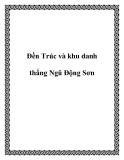 Đền Trúc và khu danh thắng Ngũ Động Sơn