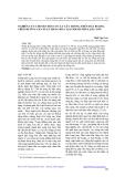 NGHIÊN CỨU CHUYỂN ĐỔI CƠ CẤU CÂY TRỒNG TRÊN ĐẤT RUỘNG THEO HƢỚNG SẢN XUẤT HÀNG HOÁ TẠI THÀNH PHỐ LẠNG SƠN