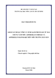 KHẢO SÁT HOẠT TÍNH VÀ TINH SẠCH PROTEASE TỪ HAI CHỦNG NẤM MỐC ASPERGILLUS ORYZAE VÀ ASPERGILLUS KAWASAKI TRÊN MÔI TRƯỜNG BÁN RẮN