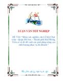 luận văn: khảo sát, nghiên cứu lễ hội chọi trâu- quận Đồ Sơn -Thành phố Hải Phòng. Trên cơ sở đó đề xuất các giải pháp nâng cao chất lượng phục vụ du khách