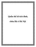 Quần thể di tích đình, chùa Hà ở Hà Nội
