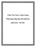 Chùa Non Nước và pho tượng Phật bằng đồng đúc liền khối lớn nhất nước - Hà Nội